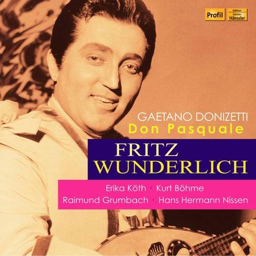 Donizetti: Don Pasquale (Live) von Fritz Wunderlich