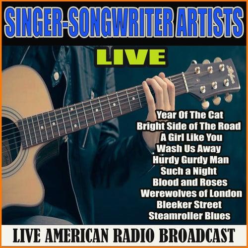 Singer-Songwriter Artists Live (Live) de Various Artists