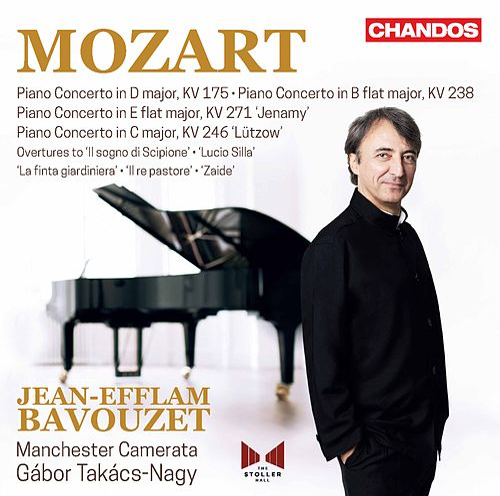 Mozart: Orchestral Works van Jean-Efflam Bavouzet