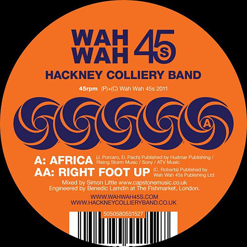 Africa de The Hackney Colliery Band
