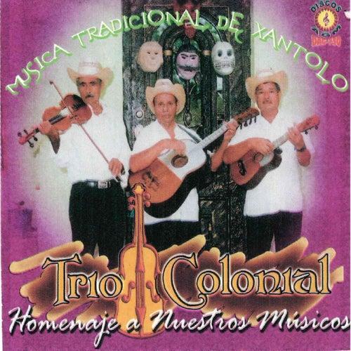 Homenaje a Nuestros Musicos de Trio Colonial (Ecuador)