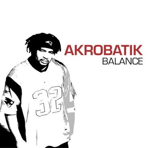 Balance von Akrobatik