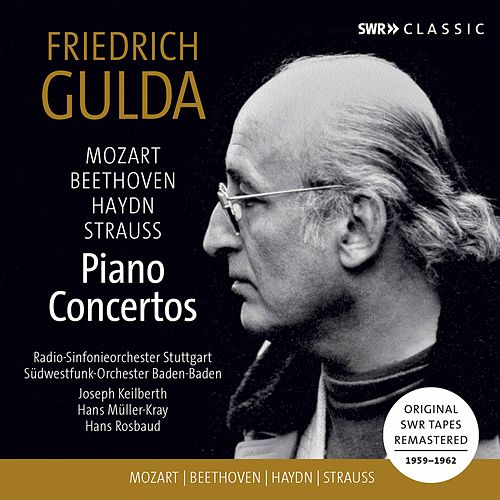 Mozart, Beethoven & Others: Piano Concertos (Live) by Friedrich Gulda