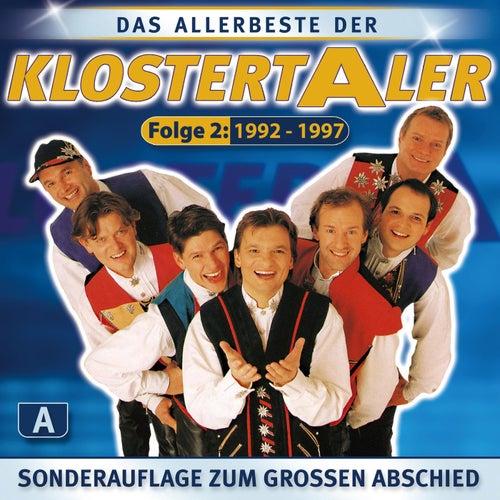 Das Allerbeste der Klostertaler Folge 2 / CD1 A  (1992-1997) von Klostertaler