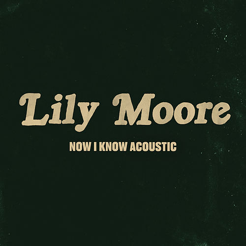 Now I Know (Acoustic) by Lily Moore
