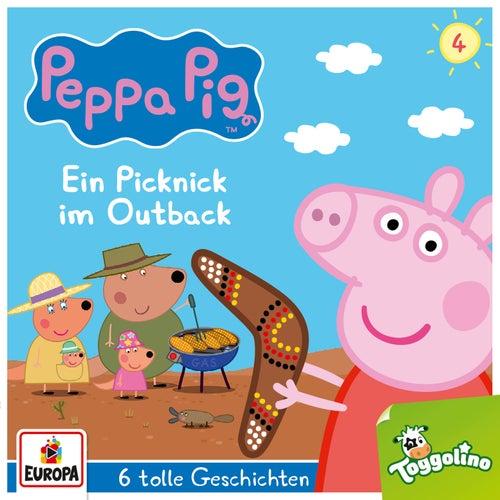 004/Ein Picknick im Outback (und 5 weitere Geschichten) von Peppa Pig Hörspiele