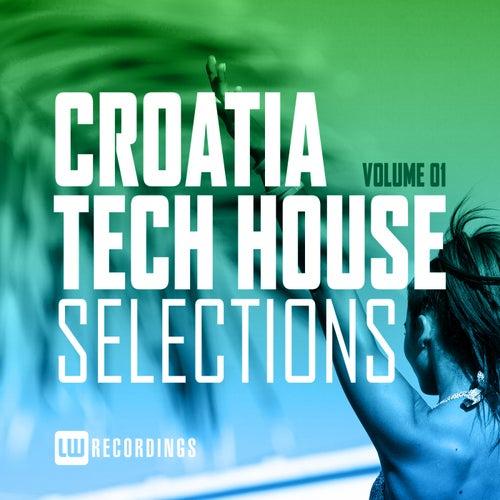 Croatia Tech House Selections, Vol. 01 de Various Artists