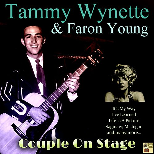 Couple on Stage de Faron Young Tammy Wynette