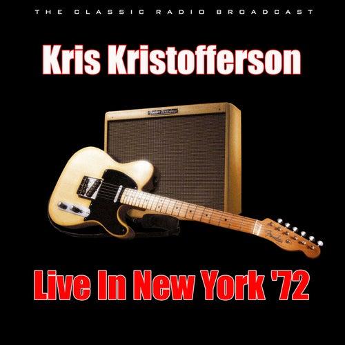 Live In New York '72 (Live) von Kris Kristofferson