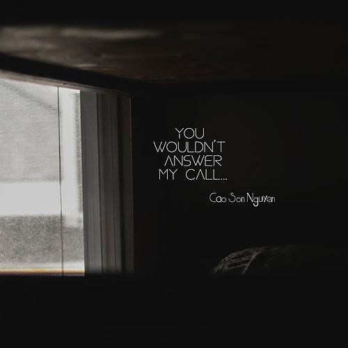 You Wouldn't Answer My Call de Cao Son Nguyen