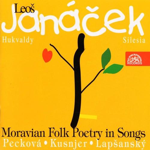 Janacek: Moravian Folk Poetry in Songs von Dagmar Peckova