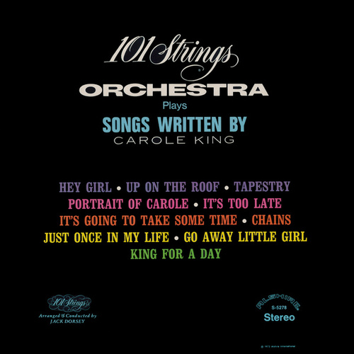 Songs Written by Carole King (Remastered from the Original Alshire Tapes) by 101 Strings Orchestra
