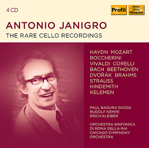Antonio Janigro - The rare Cello Recordings de Antonio Janigro