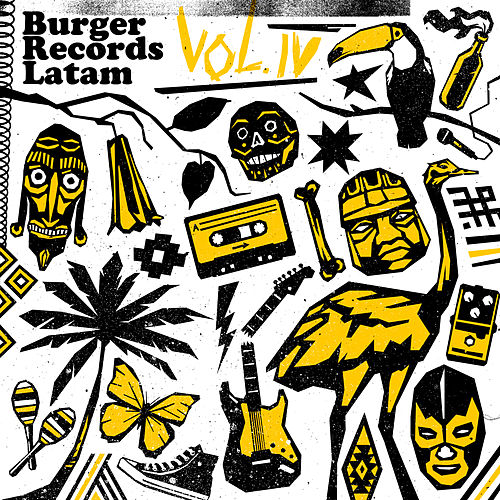 Burger Records Latam (Vol. 4) von German Garcia