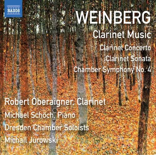 Weinberg: Clarinet & Chamber Works von Robert Oberaigner