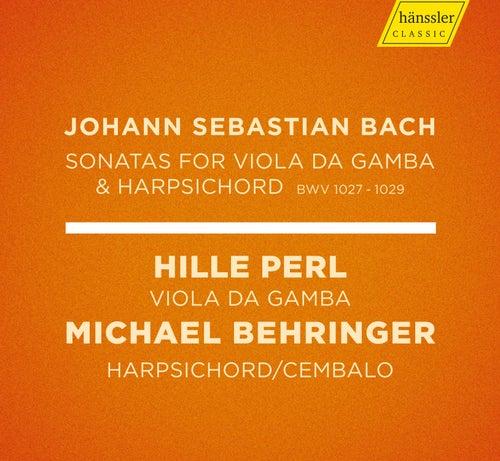 J.S. Bach: Viola da gamba Sonatas, BWVV 1027-1029 de Hille Perl