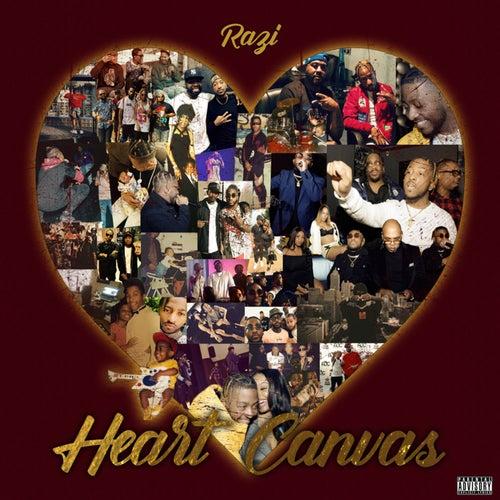 Heart Canvas de Raz I