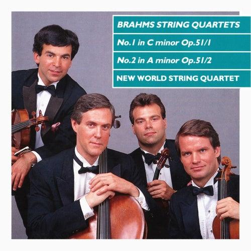 Brahms: String Quartets Nos 1 & 2 di New World String Quartet