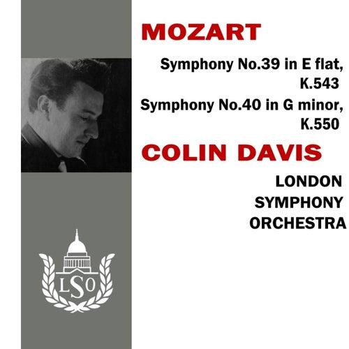 Mozart Symphony No 39 & 40 von London Symphony Orchestra