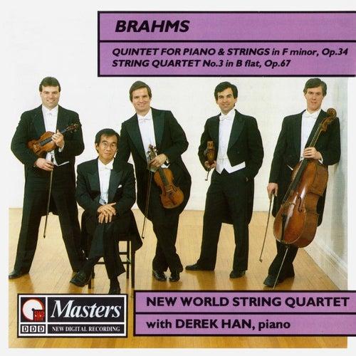 Brahms Quintet In F Minor di New World String Quartet