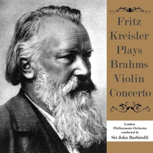 Fritz Kreisler Plays Brahms Violin Concerto de Fritz Kreisler