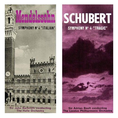 Schubert Symphony No 4 & Mendelssohn Symphony No 4 von London Philharmonic Orchestra