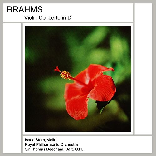 Brahms Violin Concerto by Isaac Stern