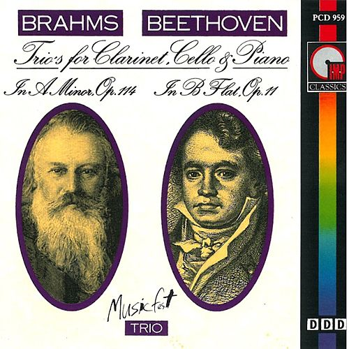 Brahms: Trio in Aminor, Op. 114 - Beethoven: Trio in B-Flat Major, Op. 11 von David Campbell