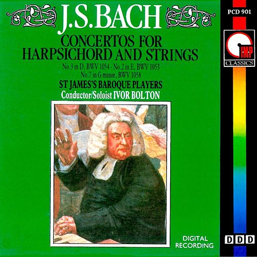 Bach: Concertos For Harpsichord & Strings by Ivor Bolton