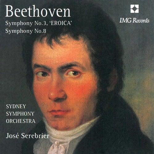 Beethoven: Symphony Nos. 3 & 8 von Sydney Symphony Orchestra