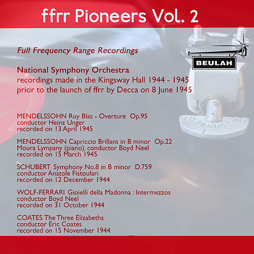 Ffrr Pioneers, Vol. 2 by National Symphony Orchestra
