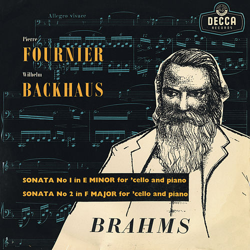Brahms: Cello Sonatas de Pierre Fournier