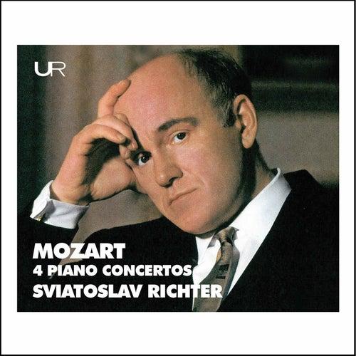 Richter plays Mozart: 4 Piano Concertos de Sviatoslav Richter