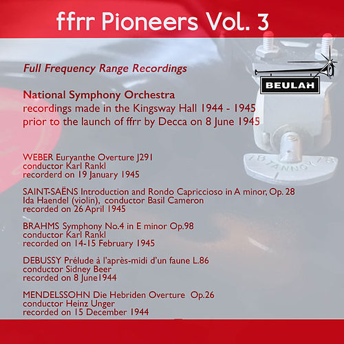 Ffrr Pioneers, Vol. 3 by National Symphony Orchestra