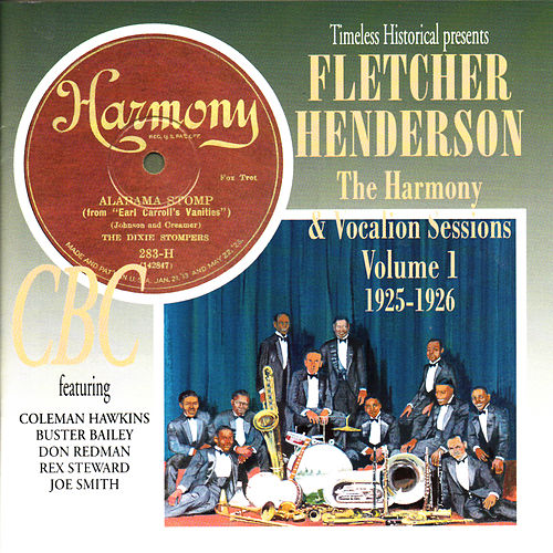 Fletcher Henderson the Harmony & Vocalion Sessions Volume 1 1925-1926 de Fletcher Henderson