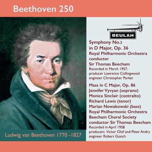 Beethoven 250 Symphony No.2, Mass in C Major de Sir Thomas Beecham