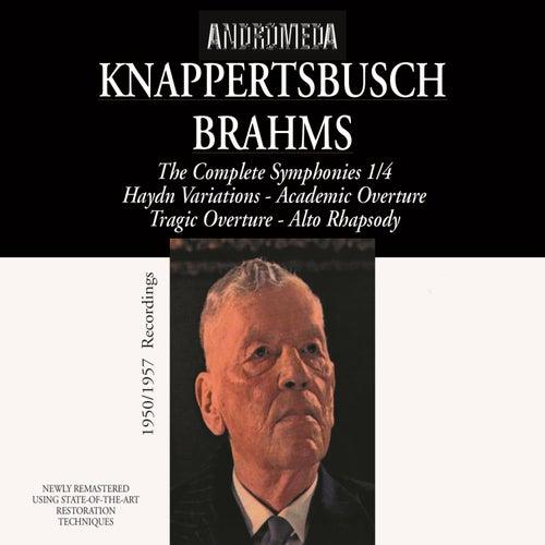 Brahms: Symphonies Nos. 1-4 & Other Works von Hans Knappertsbusch