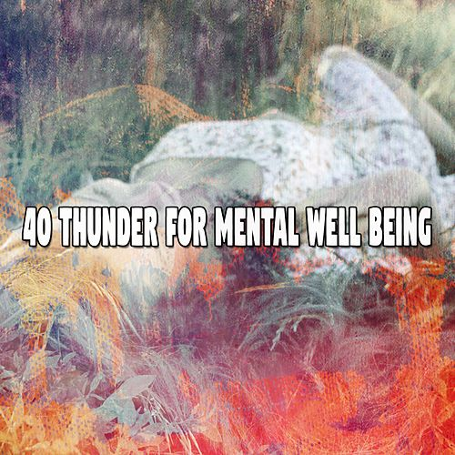 40 Thunder for Mental Well Being de Rain Sounds and White Noise