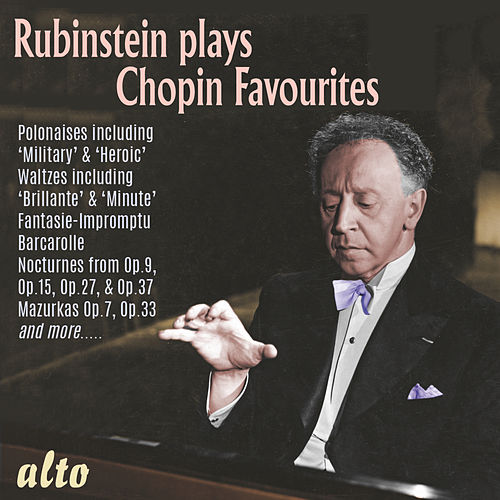 Rubinstein Plays Chopin Favourites de Arthur Rubinstein