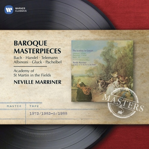 Baroque Masterpieces by Sir Neville Marriner