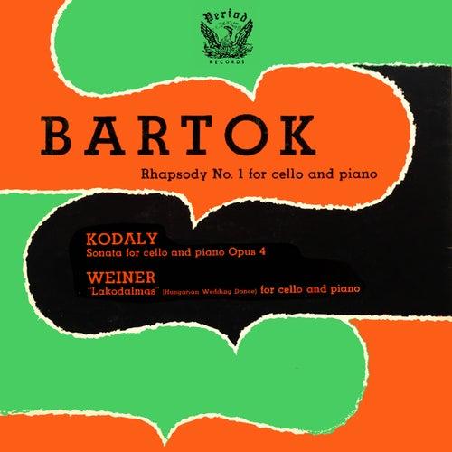Bartok Kodaly Weiner by Janos Starker