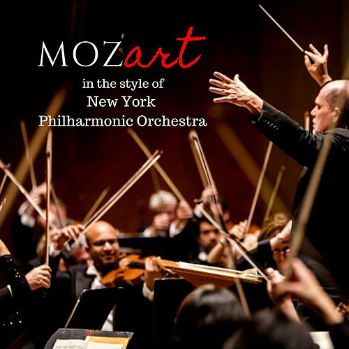 Mozart in the style of New York Philharmonic Orchestra di New York Philharmonic