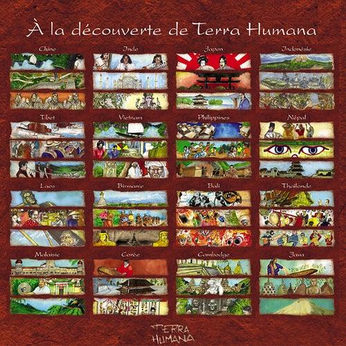 À la découverte de terra humana fra Shan Di, Kiran Murti, Taisei Iwasaki, Jaya Satria, Tsering Tobgyal, Anh Hung, Juan Deloro, Chin Chakrit, Aung Win, Imade Saputra, Wira Surya