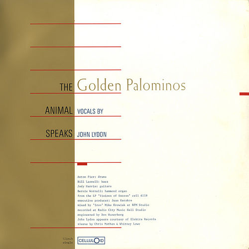 The Animal Speaks by The Golden Palominos