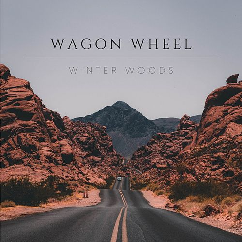 Wagon Wheel di Winter Woods