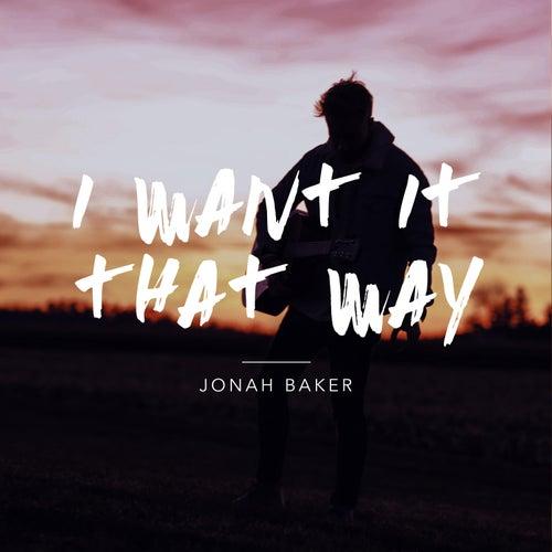 I Want It That Way (Acoustic Version) de Jonah Baker