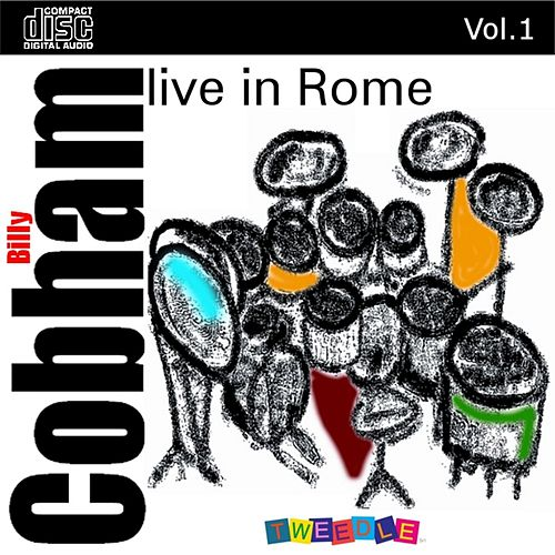Live In Rome Vol.1 by Billy Cobham