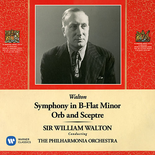 Walton: Symphony No. 1 & Orb and Sceptre by Philharmonia Orchestra