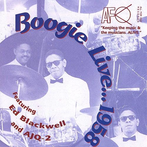 Boogie Live...1958 (feat. American Jazz Quintet 2) von Ed Blackwell