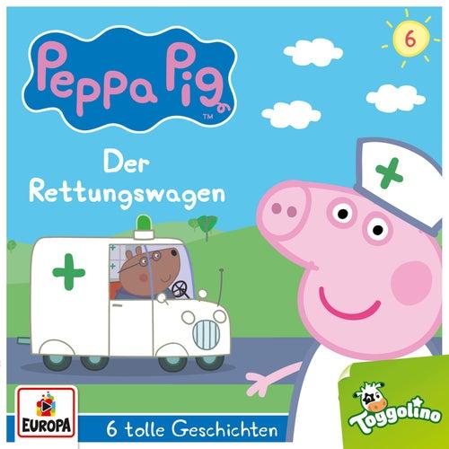 006/Der Rettungswagen (und 5 weitere Geschichten) von Peppa Pig Hörspiele